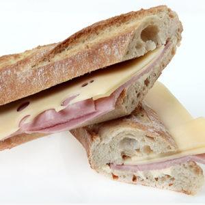 Le Dej69 - Sandwich Jambon Emmental