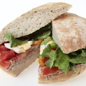 Le Dej69 - Sandwich Pain Bagnat