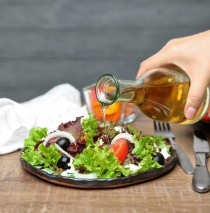 La livraison de salades au bureau